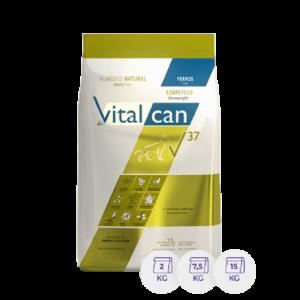 Vitalcan V37 Sobrepeso Adulto por 15 Kg.