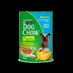 Dog Chow Húmedo Adultos Razas Pequeñas (Pouch) x Pack de 15 unidades