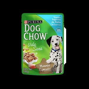 Dog Chow Húmedo Cachorros (Pouch) x Pack de 15 unidades