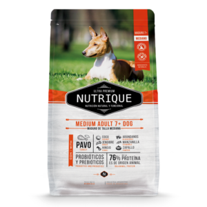Nutrique Medium Adult 7+ Dog x 12kg
