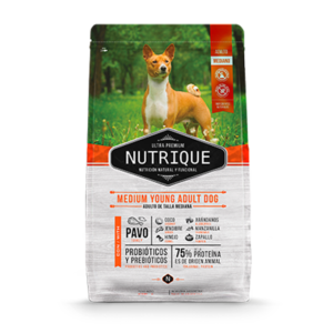 Nutrique Medium Adulto x 3 y 12 Kg.