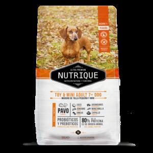 Nutrique Toy & Mini Adult 7+ Dog 3kg