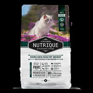 Nutrique Gato Adulto Sterilised y Weigth Control x 2 Kg.