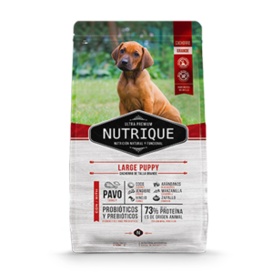 Nutrique Large Puppy x 15 Kg.