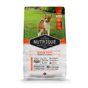 Nutrique Medium Puppy x 12 Kg.