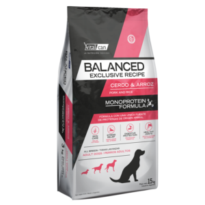 Balanced Exclusive Cerdo y Arroz x 15 Kg