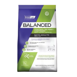 Balanced Adult Cat Weight Control x 2 y 7,5 kg