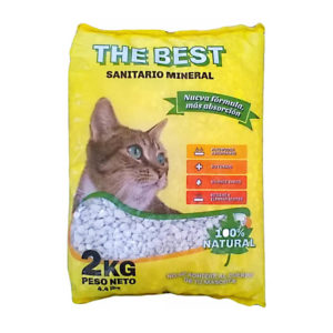 The Best Sanitario Mineral x 4 Kg de 4 unid.