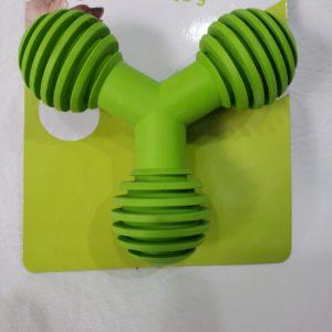 Juguete dental Y, verde.