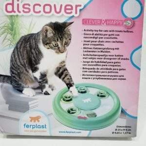 juguete gato Discover, único color.