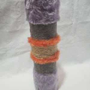 Juguete gato rascador pata silla, colores surtidos.