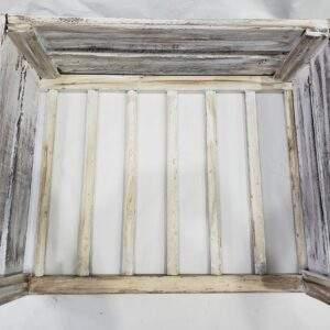 Estructura de madera para cama, único color.