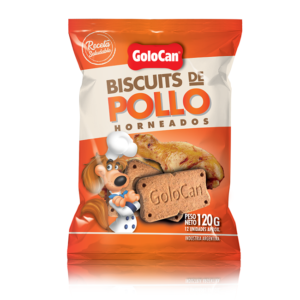 BISCUITS POLLO  X 120 GS