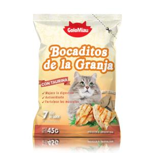 BOCADITOS SABOR GRANJA x 45 gs