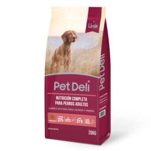 UNIK PET DELI Perros Adultos x 20 kg