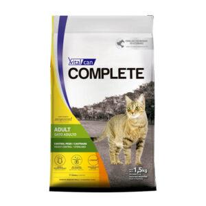 Complete Gato Control Peso/Castrado 1.5 y 7.5 Kg